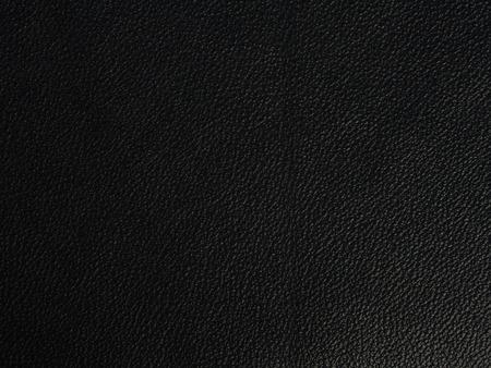genuine leather: Black genuine leather background, close up Stock Photo