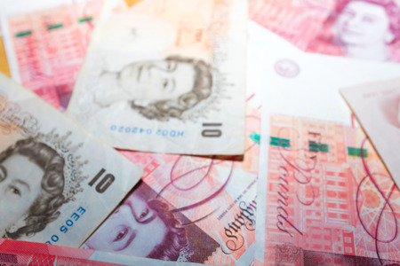 quid: What has happened of  referendum a vote in which everyone, Pile of Pound money background British money