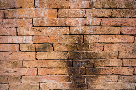 concrete surface finishing: Religion old red brick wall texture background