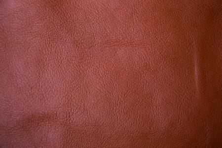 cuero vaca: Genuina fondo marrón de cuero de vaca con textura objetivo macro