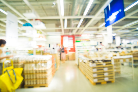 mart: Home mart store blur background with people