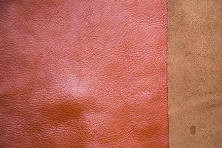 cuero vaca: Background of genuine cow leather for craftsmanship work