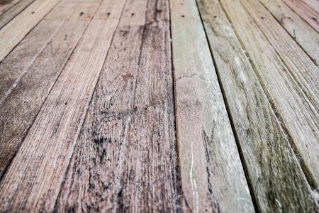 Oude houten textuur uitstekende achtergrond, Aardhout Stockfoto