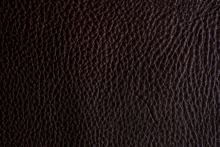 d8c904e2814 Dark brown full grain genuine leather cowhide background, Decoration  texture Stock Photo - 96476848