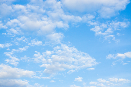 Blue sky with morning cloud nature landscape