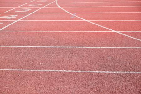 Running track rubber lane sport concept