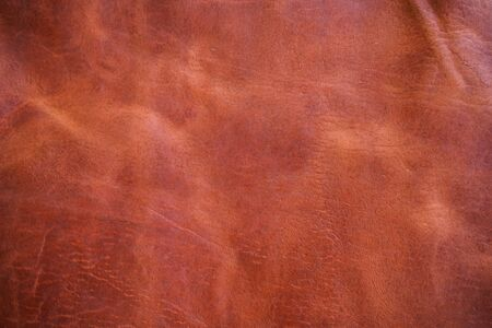 Red brown genuine leather texture craft background