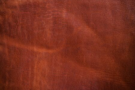 Red brown cartier genuine leather texture craft background