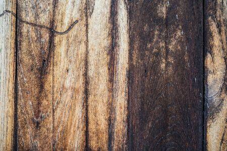 Grunge old woode texture vintage background, Nature decoration Banco de Imagens