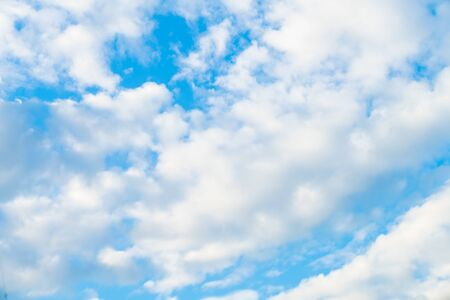 Blue sky with cloud sunny say nature background