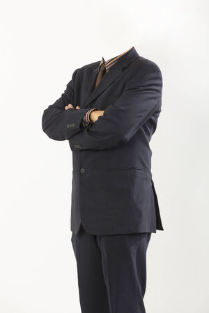closeup businessman suit photo