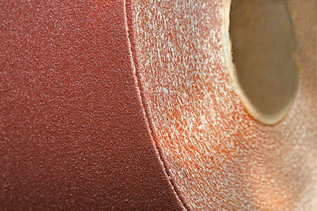 Sand paper material Stock Photo