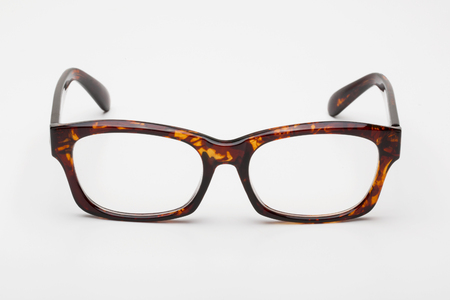 corrective: Glasses. Isolated on white background Stock Photo
