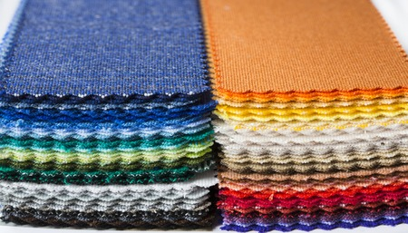 fabric color samples Banque d'images