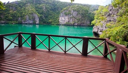 angthong: The Inner Sea, Angthong Marine National Park, Thailand Stock Photo