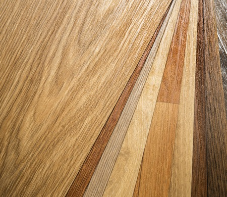 Wood color guide samples of wood choice