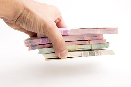 Thai Baht banknotes Reklamní fotografie
