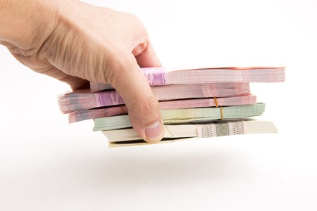 Thai Baht banknotes Banque d'images