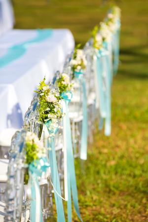 banqueting: banqueting tables at wedding