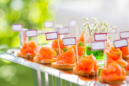 Buffet Salmon