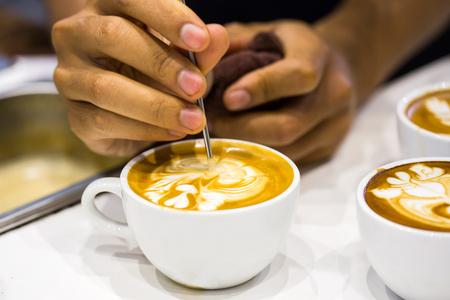 papel filtro: cappuccino and latte art