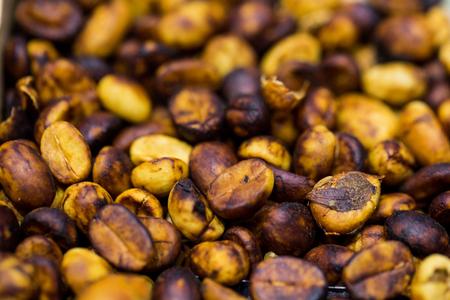 dried berries coffee beans
