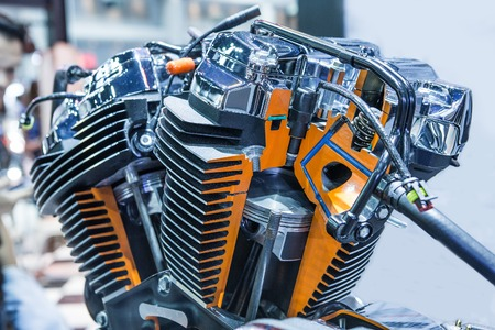Het ontwerp van de moderne automotor.