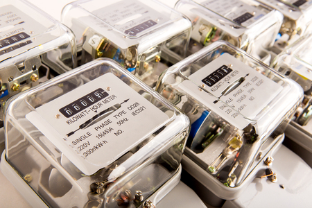 Electric meter power tool Banco de Imagens - 113883045