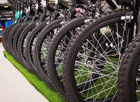 the Bicycles for sale in department stores