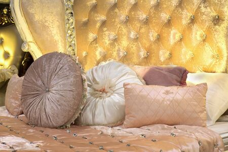 Mattress and luxury pillows sold in the mall