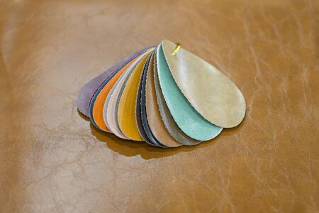 Example of PU artificial leather strips boards