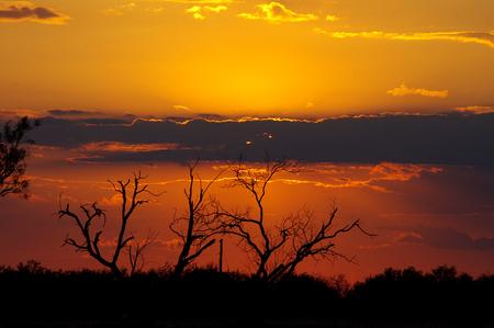 A spectacular Texas Sunset