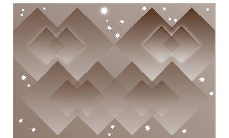 braun: background braun with square