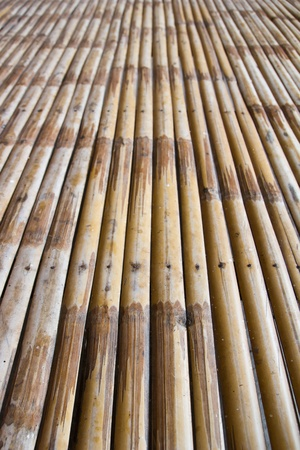 Bamboo pattern for background,wood wall  Stock Photo