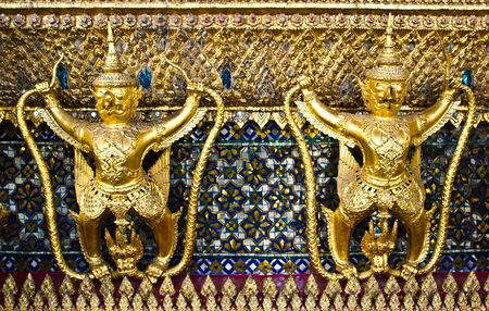 garuda in Wat Phra Kaew,Thailand