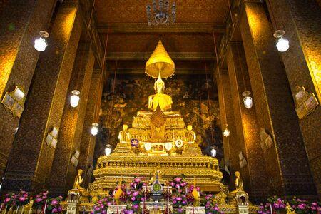 The Buddha in Wat Pho