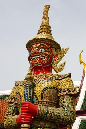 Guardian statue at Wat Phra Kaew