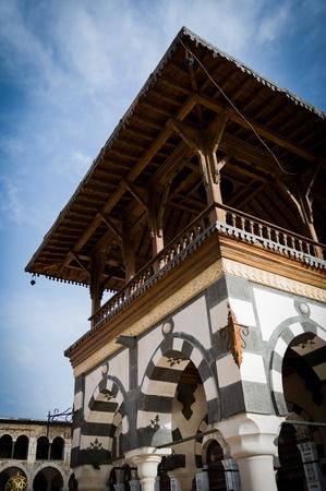 Damascus, the Islamic Umayyad Mosque