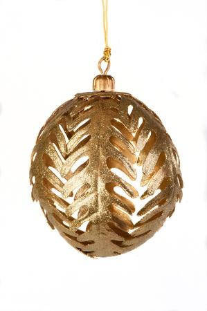 Christmas Decorations, ball on white bacground Stock Photo - 17740481