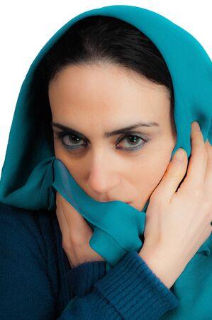 Portrait of beautiful woman Фото со стока