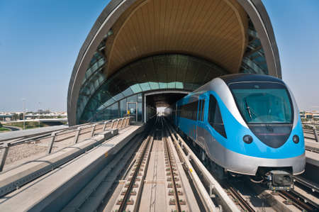 The new Dubai Metro line