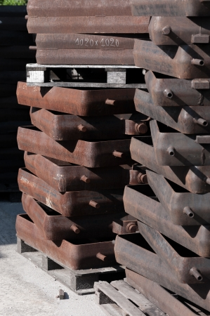 moulded: Fundici�n, moldeado en arena moldeada, frascos de moldeo
