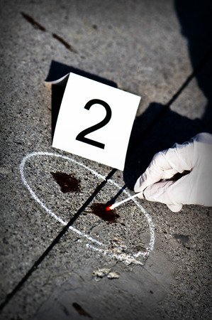 detecting: Detecting traces of Blood in a Crime Scene