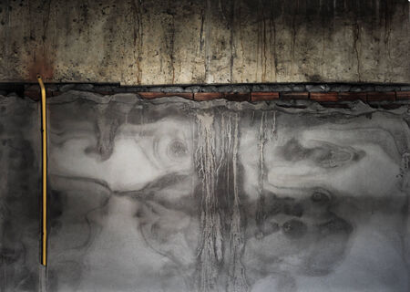 Grunge wall in a abandoned building photo