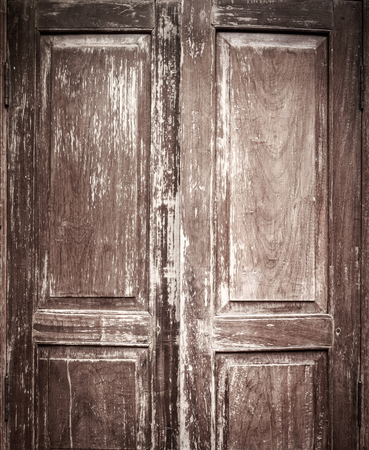 intended: Vintage Chinese Style door with texture and intended vignette
