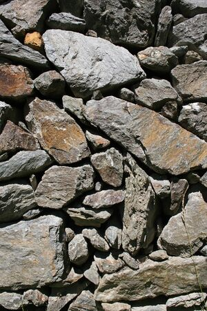 rough: Wall of Rough Rocks Stock Photo