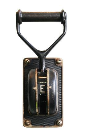 Vintage power switch