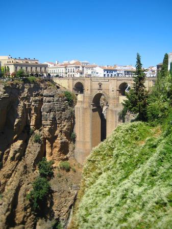Stonebridge in Ronda, Spain Editorial