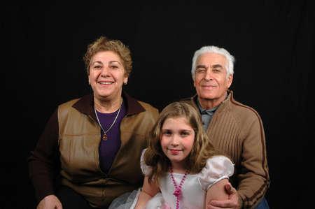 photo of a family Stock Photo - 283723