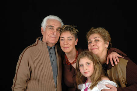 photo of a family photo